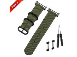 Watchband for SUUNTO smartwatch Nylon Strap 24mm Men's Watch Suunto Core Nylon Strap Band Accessories with Adapters and tools