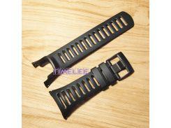 FOR SUUNTO Ambit  2R 2S 3s 24mm Men Watch's Waterproof Rubber Strap Watchband black color Buckle