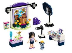 Bela 10601 Friends Series Emma's Photo Studio Building Block Bricks Toys Gift For Children Compatible With Legoings 41305