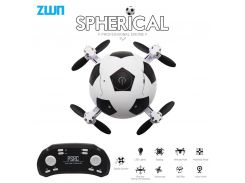 Mini Dron Football Quadcopter Foldable Drone 3D Flips One Key Take Off Headless Mode RC Helicopter Kids Gift Toy vs E010 S9