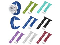 Replacement Silicone Female Watch Band Strap Compatible For SUUNTO M1 M2 M4 M5 M Series TT@88