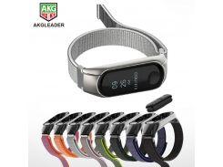 For Xiaomi Band Mi Band 3 Wrist Strap Nylon Bands Sport Mi Band3 Bracelet For Xiaomi Mi Band2 Watchband Wriststrap
