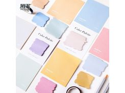 Mohamm Creative Memopad Japanese Stationery Kawaii Sticky Notes Planner Stickers Memo Sheets Notepad Office Decoration