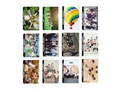 KPOP BTS Bangtan Boys Young Forever WINGS FAKE LOVE YOURSELF Tear Album LOMO Cards Self Made Paper Photo Card HD Photocard