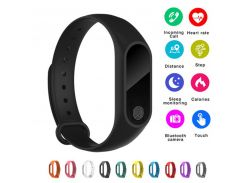 Promotion! Wristband Bracelet with Smart Heart Rate Fitness Tracker Touchpad OLED Strap For IOS/Xiaomi/Honor PK Mi Band 2/3/4