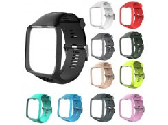 Watchband Watch Strap Soft Silicone Replacement Wrist Band Belt for TomTom 2 3 Series  LXH