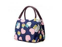 ea070ccb43e9 Girl Cartoon Hello Kitty Lunch Bag Portable Insulated Cooler Bags Thermal  Food Picnic Lunch Bags Women