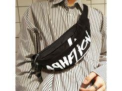Waist Bag Men Women Letter Casual Chest Bag Nylon Travel Shoulder BagS Street Rock Cool Fashion Fanny Packs Incline Backpack 98