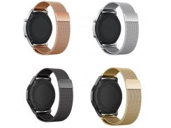 22m 20mm xiaomi huami amazfit Bip lite huawei watch 2 pebble time steel Band for Samsung Gear s2 S3 Classic Magnetic Strap Wrist