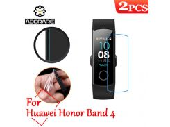 2pcs For Huawei Honor Band 3 4 A2 Smart Band 2 Pro B19 B29 Screen Protector Full Cover For Huawei Honor Band 4 sports SmartWatch