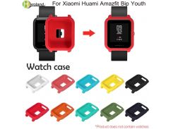 Case Cover Colorful Soft TPU Protection Silicone for Xiaomi Amazfit Bip BIT PACE Lite Youth Watch Protect Shell Protective case