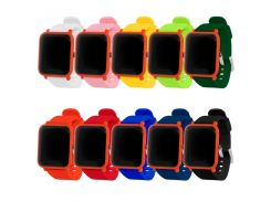 Soft Silicone Watch Strap Band For Xiaomi Huami Amazfit Bip Smart Watch Replacement Pure color Bracelet Wrist band straps 20mm