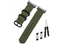 WatchbandS for SUUNTO smartwatch Nylon Strap 24mm Men's Watch Suunto Core Nylon Strap Band Accessories with Adapters and tools