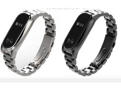 Strap for Xiaomi Mi Band 2 stainless steel Bracelet for MiBand 2 Band Replace For Mi Band 2 metal bands