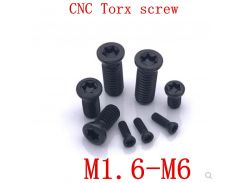 50PCS M1.6 M1.8 m2 m2.2 M2.5 M3 M3.5 M4 M5 M6*L Grade 12.9 Insert Torx Screw Replaces Carbide Inserts CNC Accessories Lathe TooL