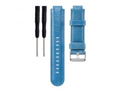 Replacement Unisex Sports Genuine Leather Wrist Watch Band Strap for Garmin Forerunner 220 230 Genuine Leather dropshipping