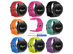 Sport Watch Strap For Suunto Traverse Band Rubber Watch Replacement Band Strap Outdoor Bracelet Watchband 2018 watch accessories
