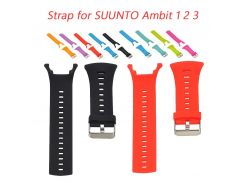 Sport Silicone Watch Strap for SUUNTO Ambit 1 2 3  24mm Men's Watch Rubber Band Screwdriver Watch Accessories