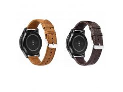 22mm Gai Pebble time steel xiaomi huami amazfit Real Crazy Horse Leather Watch Band for Samsung Gear S3 Frontier / Classic
