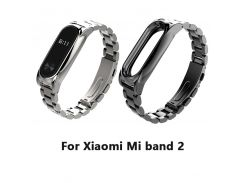 Stainless Steel Wrist Strap For Xiaomi Mi band 2 Miband OLED Smart Bracelet Wristbands Replacement Wrist Band