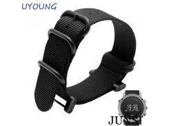 High Quality For Suunto essential Nylon Men's Watch bands 24mm For Suunto Core Smart Bracelet watchband belt