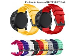 24mm Sports Silicone Watch Strap for Suunto AMBIT3 VERTICAL GPS smartwatch Wristband Replacement Straps with Tools Bracelet