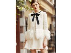 Белый модный блейзер
