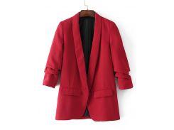 Стильный красный пиджак