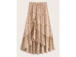 Цветочная юбка на кулиске
