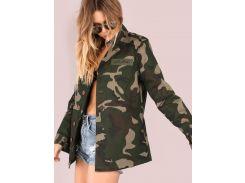 Камуфляжная модная куртка