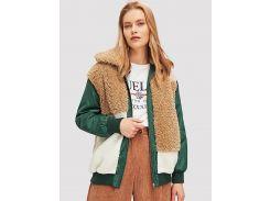 Цветная флисовая куртка