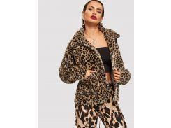 Леопардовая ветровка тедди