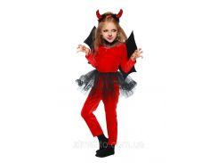 Чертенок карнавальный костюм детский Для девочек, 30