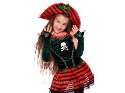 Пиратка карнавальный костюм детский 34