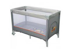 Манеж-кровать Baby Mix  HR-8052  182 grey