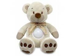 Проектор музыкальный Baby Mix Медведь Puff bear STK-13138 cream