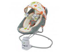 Кресло-качалка Baby Mix BY002 gray