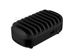 ORICO 120W / 2.4A 10 USB-портов USB-зарядка Для Док-станции Для Iphone Samsung Tablet (ce, Rohs, CCC) - Черный / Соединенное Гнездо