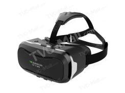 SHINECON 2.0 VR виртуальной реальности очки Box 360 градусов Панорамный вид - черный