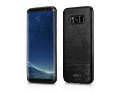 XOOMZ PU Кожаный Чехол Для Телефона TPU Для Галактики Samsung S8 G950 - Черный
