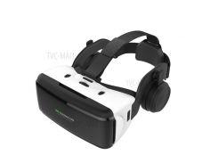 SHINECON SC-G06E Профессиональная 3D VR-очки Для Виртуальной Реальности С Наушниками Для 4.0 - 6.0-дюймовые Телефоны - Белый