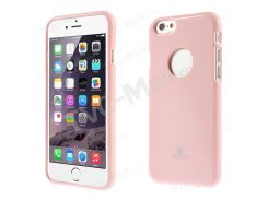 Ртутный GOOSPERY Блестящий Порошок ТПУ Покрытие Для Iphone 6s / 6 4,7 Дюйма - Розовый