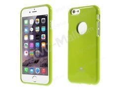 Ртуть GOOSPERY Блестящий Порошок Оболочки TPU Для Iphone 6s / 6 4,7 Дюйма - Зеленый