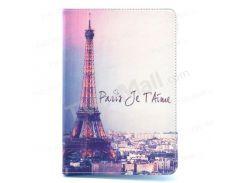 Париж Эйфелева башня Кожаная крышка для iPad Мини / Мини 2 / Мини 3 Вт / Стенд
