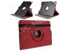 Ткань кожа роторная стойка кожаная крышка для IPad Mini 4 - красный