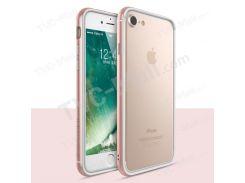 Серия TOTU Evoque На IPhone 7 Плюс Случай Раковины Бампера ПК TPU - розетка золото
