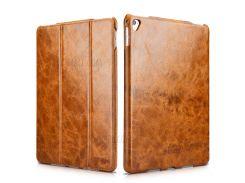 ICARER масло воск ретро телефон подлинный фолиант стенд крышка для Ipad про 12,9 дюйма - коричневый