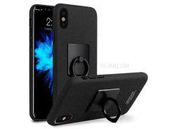 IMAK Для Apple Iphone X 5.8-дюймовый Держатель Для Ключей С Подставкой Для Штырей - Черный