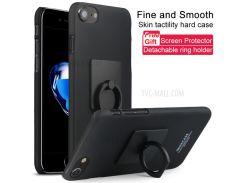 Чехол Для Ковбойского Коврика IMAK Для Iphone 8 / 7 4.7 Дюйма + Экранная Пленка - Металлический Черный