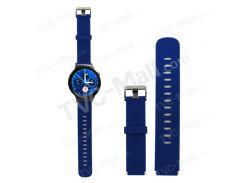 Силиконовый Браслет Для Наручных Часов Для Samsung S2 SM-R720 - Синий